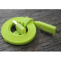 Best Long 2 IN 1 USB Data Sync Charging Data Cable For SAMSUNG C3050 / iPhone 4S wholesale