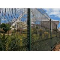 Buy cheap 358 Prison Mesh Fence SYSTEM anti cut and anti climb 358 prison mesh fencing from wholesalers