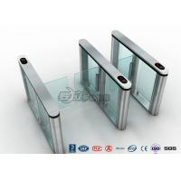 Cheap Pedenstian Entry Speed Gate Turnstile Gate Visit Management System For Bank With CE approved for sale