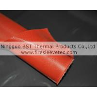 Best Silicone Rubber Coated Fiberglass Fabric( one side or two sides coated) wholesale