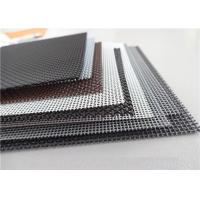 Best High Intensity Stainless Steel Insect Screen , Black King Kong Window Screen Mesh wholesale