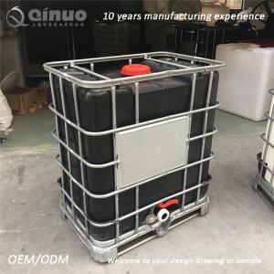 Best 1000L Water or liquid storage  black IBC TANK wholesale