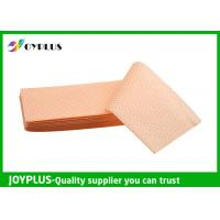Best Yellow Green Color Non Woven Cloth , Window Cleaning Cloths Extra Absorbent wholesale