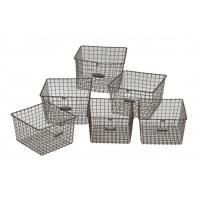 Cheap Custom Made Metal Wire Mesh Baskets for sale