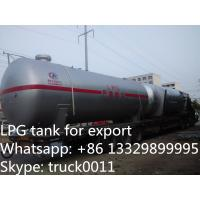 China Hot sale LPG gas storage tanks, High quality bulk LPG tanks for sale, on sale
