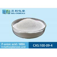 Buy cheap 100-09-4 Professional Cosmetic Raw Materials Q/320507 LBM10-2006 from wholesalers