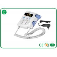 Best Light Weight Pocket Fetal Doppler High Sensitivity 2MHz Probe wholesale