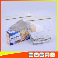 Best Airtight Transparent Ziplock Snack Bags For Food Packing Customized Size wholesale