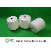 Best High Tenacity z twist Bright Spun Polyester Yarn In Raw White Or Optical White wholesale