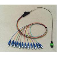 10 Meters Ribbon 8, 12, 24 Fibers For LAN, WAN Optical Fiber Patch Cord With Double Shield