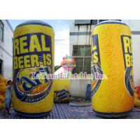 Best Oxford Cloth Inflatable Advertising Products / Personalized Drink Bottles Lead Free wholesale