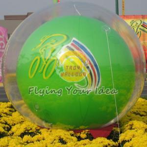 Best Reusable Versatile Digital Printing Green Inflatable Helium Ballon, Inflate Ground Balloon wholesale