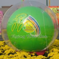 Best Reusable Versatile Digital Printing Green Inflatable Helium Ballon, Inflate Ground Balloon wholesale