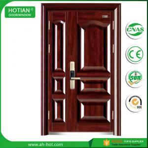 Best New door design main gate wrought iron exterior steel door made in china wholesale