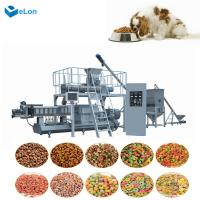 China High quality dry pet dog cat food extruder machinery automatic production line on sale