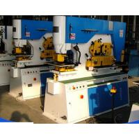 Best Angle Steel Cutting160T Hydraulic Iron Worker With Nothcing / Cutting Function wholesale