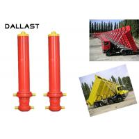 Buy cheap Hydraulic Ram Cylinder Telescoping Chrome Lifting Dumper Tipper Trailer from wholesalers