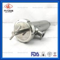 China Mirror Polished Sanitary Water Filter Mesh Size 0.5-2.0mm DIN 3A Approved on sale