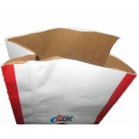 Best New Durable White with Brown Kraft Paper Bag (CB07K002T) wholesale