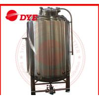 Quality Customized Bright Beer Tank Commercial , Steam Jacketed Tank Anti Aging wholesale
