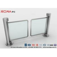 Best 304 Stainless Steel Swing Barrier Gate Unidirectional 500mm Passage Width wholesale