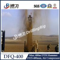 Best 400m hydraulic rock drilling machine/Water Well Drilling DTH hammer DFQ-400 air compressor wholesale