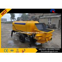 Quality Hydraulic Static Pump Concrete 0.6M3 Hopper Capacity S Distribution Pipe Type wholesale