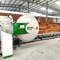 Best Fast Drying Wood System For Hardwood High Frequency Timber Dryer Kiln From SAGA wholesale