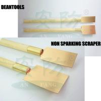 Best sale to Iran non sparking cleaning shovel safety brass copper scraper with long wood handl wholesale