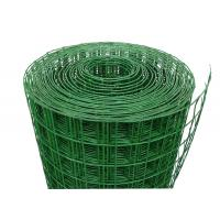 Best Green Power Coated Welded Wire Mesh , Construction Welded Wire Fencing wholesale
