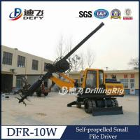 Best 450-1200mm Diameter Foundation Hydraulic Pile Driver Machine DFR-10W with 15m Max. Depth wholesale
