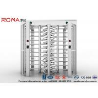 Best Robust Full Height Turnstile Access Control Barrier Gate Anti Fingerprints Surface wholesale