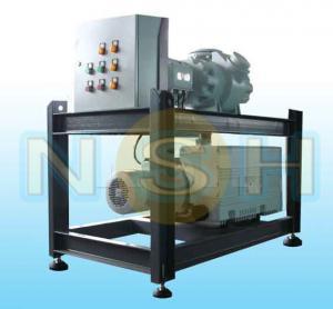 Best Transformer Vacuum Pump Unit Custom Color Mobile Type With Four Wheels Double Stage wholesale