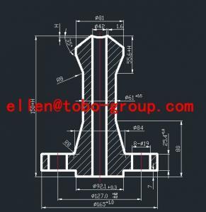 ANSI B31.1 stainless steel 316 304 NipoFlange