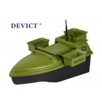 Best Lithium batter RC Fishing Bait Boat DEVC-204 green ABS Engineering RC model wholesale