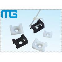 Best white /balck Saddle Type tie mounts with material of PA66, CE approval ,1000PCS /BAG Cable Accessories wholesale