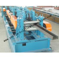 Best Automatic C / Z Purlin Roll Forming Machine Interchangeable For Steel Frame wholesale