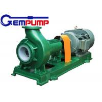 Best F Type horizontal Chemical Centrifugal Pump  Model 65FN-40A 3.36m³/h ~ 190.8m³/h Flow wholesale