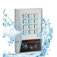 Buy cheap Metal Rfid Door Access Control 125kHz Proximity Card Password Keypad One Relay from wholesalers
