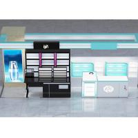 China Various Shapes Cosmetic Retail Display , Cosmetic Shop Interior Design For Specialty Stores on sale