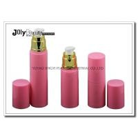 Best On The Way To The Bottle Injection Section In The Pink Gold Plating Airless Dispenser Bottles wholesale