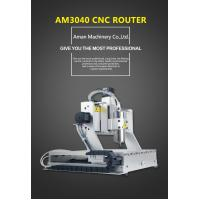 Best aman 3040 4-axis 800W cnc wood carving engraving milling cutting machine wholesale