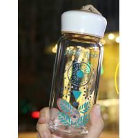 Best Popular Nice Fashionable Water Bottles , Reusable Glass Drinking Bottles With Lids wholesale