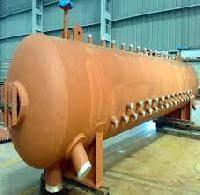 Single Gas Boiler Mud Drum Natural Circulation For Textile Industry