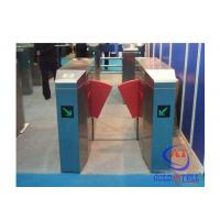 Best Fashionable Design Stainless Steel Flap Barrier Turnstile Passage Speed 40 Persons / Min wholesale