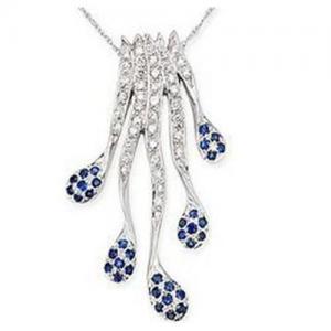 Best Pendant(Diamond & Sapphire Pendant ) wholesale