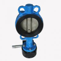 Quality Industrial butterfly wafer valve With Gearbox , PN 10 Bar Hand / Manually Operated wholesale