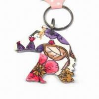 Best Horse Design Keychain, Customized Logos are Accepted, Made of Alloy and Plastic wholesale