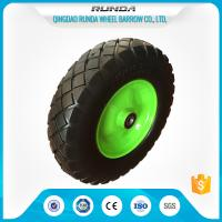 Best Heavy Duty Trolley Pneumatic Wheels Ubber Casing Ball Bearing 150-300kg Loading wholesale