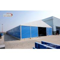Cheap Big 30 x 50 White PVC Roof Industrial Storage Warehouse Tent With Sandwich Panel for sale